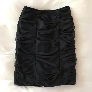 Camille La Vie Chiffon Shirred Skirt